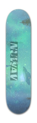 Music Producer NuWAV Banger Park Skateboard 7 3/8 x 31 1/8