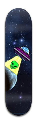 spacey dude Banger Park Skateboard 8 x 31 3/4