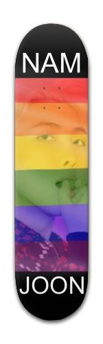 Namjoon MOTS Pride Banger Park Complete Skateboard 7 7/8 x 31 5/8