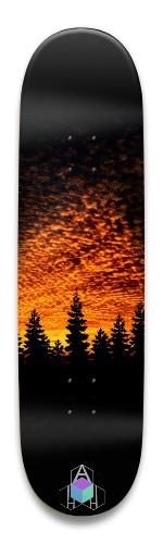 Sunset forest Park Skateboard 8.5 x 32.463