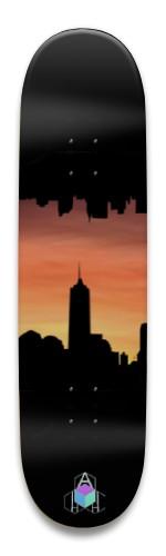 Sunset City Park Skateboard 8.5 x 32.463
