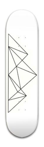 Geometric Mountain Banger Park Skateboard 8 x 31 3/4
