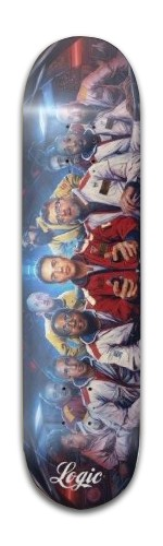The Incredible True Story By Logic Banger Park Skateboard 8 x 31 3/4