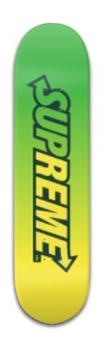 Supreme X Subway Banger Park Skateboard 8 x 31 3/4
