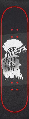 Cowboy Bebop Griptape Custom skateboard griptape