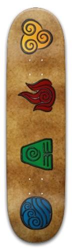 Elemental Master Park Skateboard 8 x 31.775