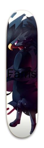 Matthew Farris promodel Park Skateboard 7.88 x 31.495