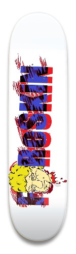 foreskinredwhite&blue Park Skateboard 9 x 34