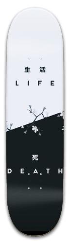 Life/Death Kanji Park Skateboard 8 x 31.775
