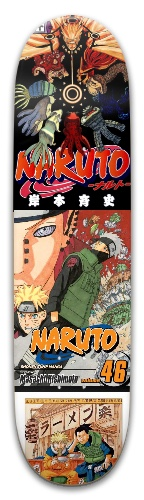 Naruto Manga Park Skateboard 8 x 31.775