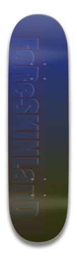 foreskinland fade Park Skateboard 7.5 x 31.370