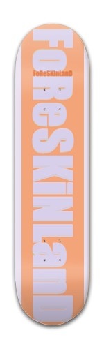 forskinland tan Banger Park Skateboard 7 7/8 x 31 5/8