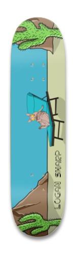 Logan Sharp - Squad Board Park Skateboard 8.25 x 32.463