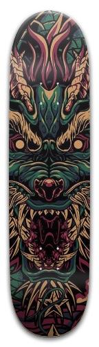 Old Japanese Dragon Park Skateboard 8 x 31.775
