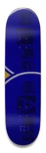 Blue Bals Park Skateboard 8.5 x 32.463