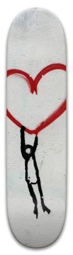Love skateboard Park Skateboard 8 x 31.775