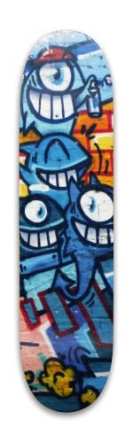 Graffiti skateboard Park Skateboard 7.88 x 31.495