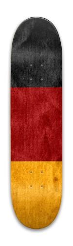 Germany flag skateboard Park Skateboard 7.88 x 31.495