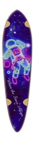 Star Struck Dart Skateboard Deck v2