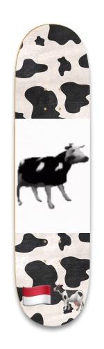 polish cow Park Skateboard 8.25 x 32.463