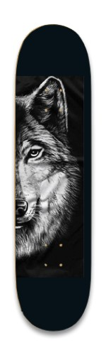 the sly wolf Park Skateboard 8.25 x 32.463