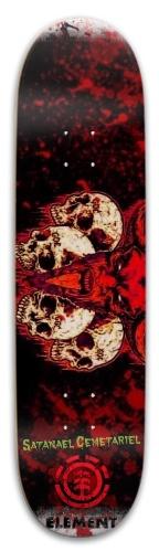 Cemetariel deck Skateboard 32.25 x 8.125