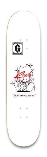 """""""Devil wears Prada."""" Park Skateboard 8.25 x 32.463"""