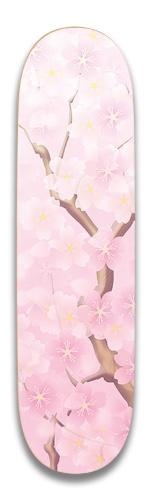 Little Bit's Cherry Blossom Park Skateboard 7.5 x 31.370