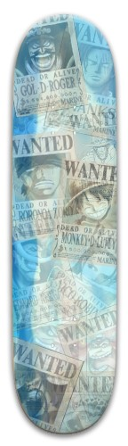 one piece wanted Park Skateboard 8 x 31.775