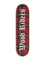Wood Riders Logo Design Banger Park Skateboard 8 x 31 3/4