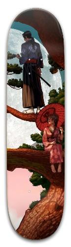 Samurai Champloo - Jin/Fuu Park Skateboard 8 x 31.775