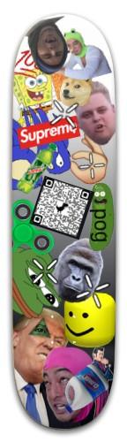 yoooooooooo Skateboard 32.25 x 8.125