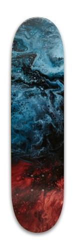 Abstract skateboard Park Skateboard 7.88 x 31.495