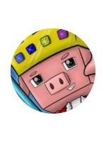 TechnoSkater Sticker 4 x 4 Circle
