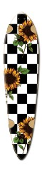 checkers Dart Skateboard Deck v2