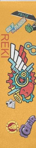 REKI Custom longboard griptape
