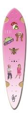 laurlaur Dart Skateboard Deck v2