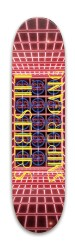 Lil Sebers Sniper Gang Board Park Skateboard 7.88 x 31.495