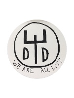 Dead dreams logo Sticker 4 x 4 Circle