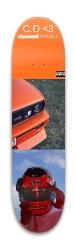 Frank Ocean Board Park Skateboard 7.88 x 31.495