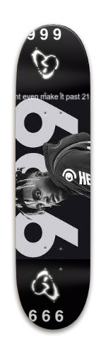 999 Park Skateboard 7.88 x 31.495