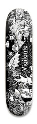 Vigilante World Park Skateboard 8.25 x 32.463