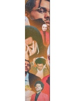 The Weeknd Custom skateboard griptape