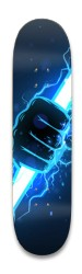 Zeus's lightning bolt Park Skateboard 8.25 x 32.463