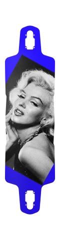 Marilyn Monroe Drop Through Symmetrical Downhill Longboard 10 x 38