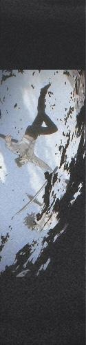 Brushstroke battle Custom skateboard griptape