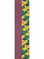 Giyo Tomioka Kamado Pattern Custom skateboard griptape