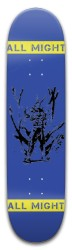 All Might Skateboard 32.25 x 8.125