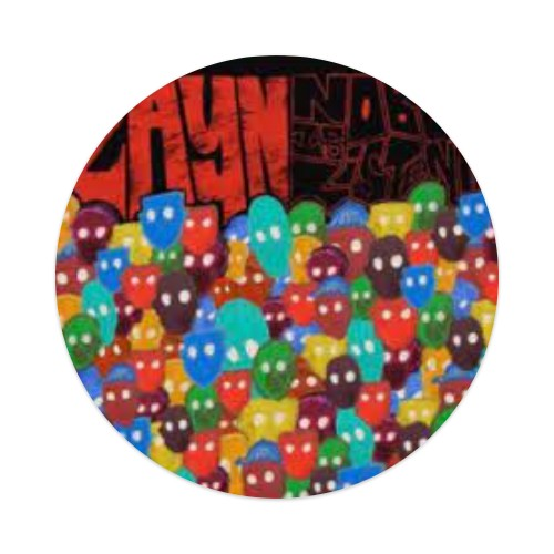 zyan Sticker 4 x 4 Circle