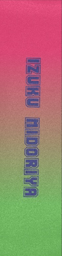 My hero Custom longboard griptape
